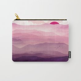 Ultra Violet Day Carry-All Pouch