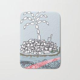 Plastic Isle Bath Mat