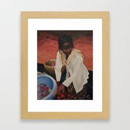 Indonesian Woman Framed Art Print