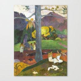 Mata Mua by Paul Gauguin Canvas Print