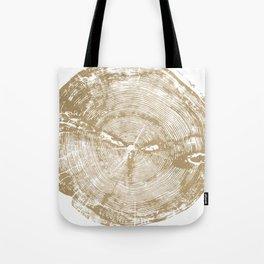 Sundance Pine, Tree ring print Tote Bag