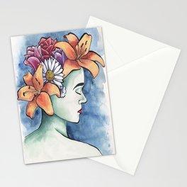 Garden Head Stationery Cards