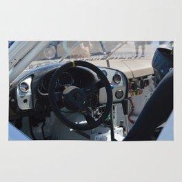 Inside the race car Rug