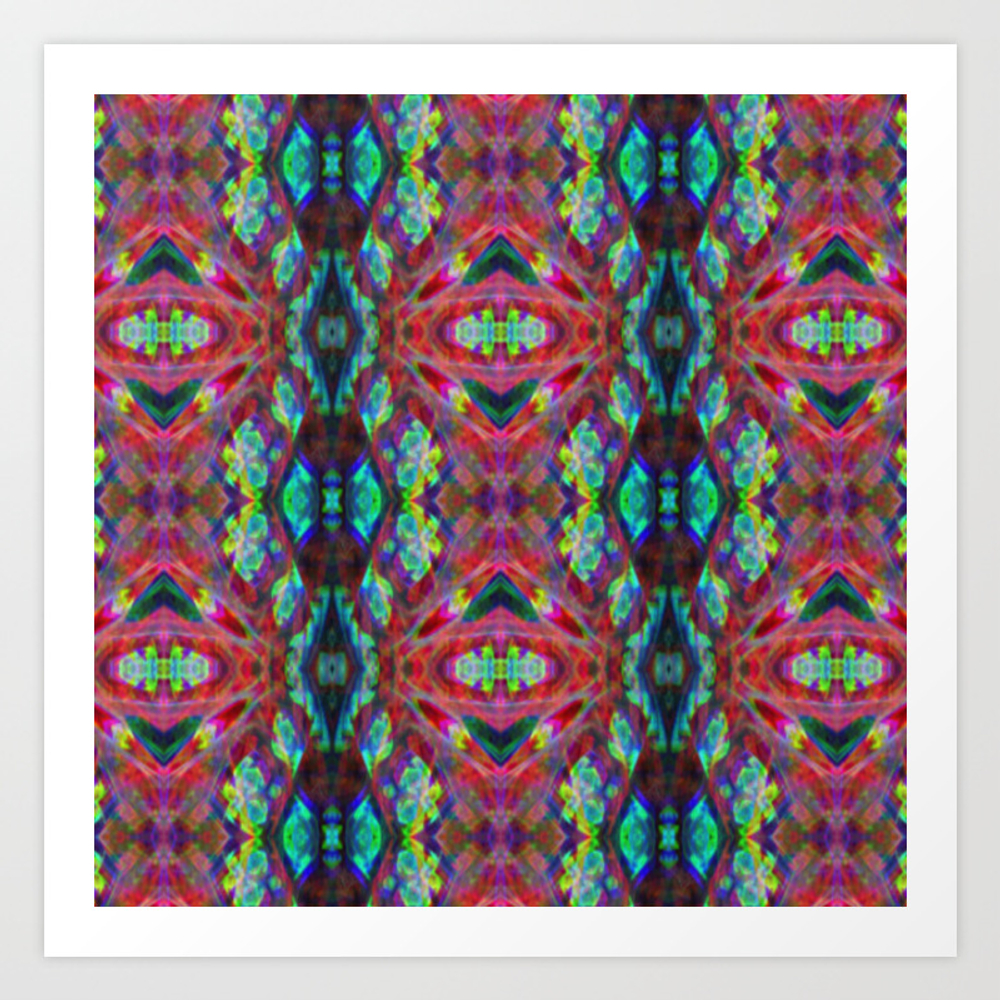 Process Of Belief Art Print by Abstractzone PRN8673407