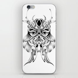GRAPHITE OWL iPhone Skin