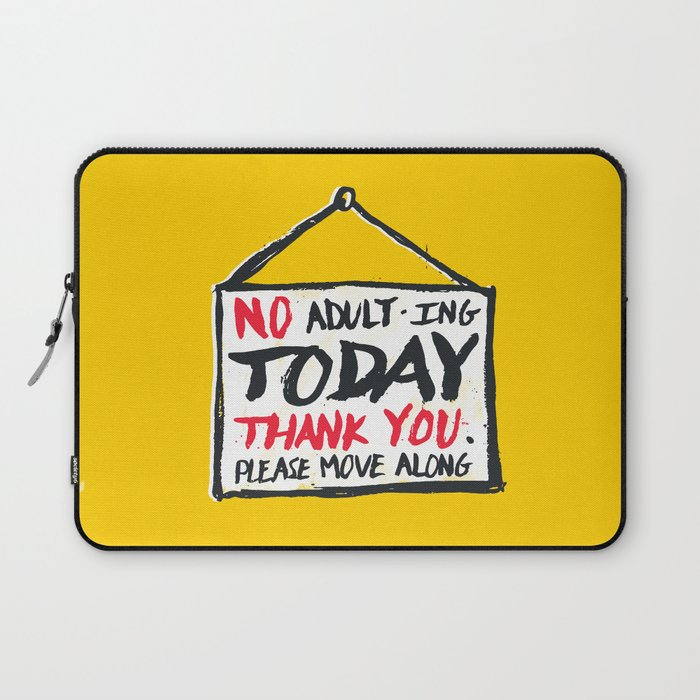 No Thank You Laptop Sleeve