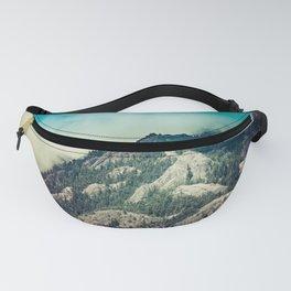Cloudy Mountain Ridge Fanny Pack
