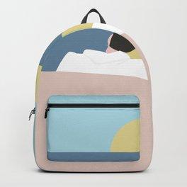 Feelings into sunset Backpack
