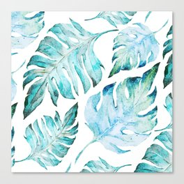 love tropical Canvas Print