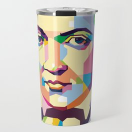 Immanuel Kant in Pop Art Travel Mug