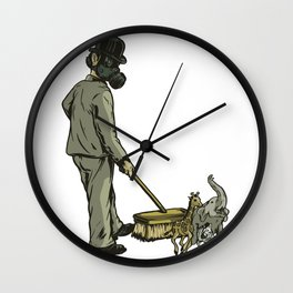 Disposable Nature Wall Clock