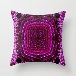 Gemstones Throw Pillow