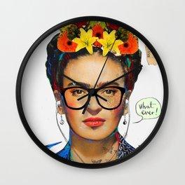 hipsta frida Wall Clock