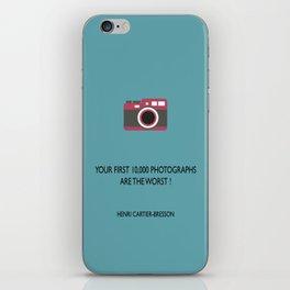 10,000 Photographs iPhone Skin