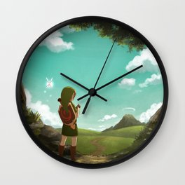 [Ocarina of Time] The Outset of a Journey Wall Clock