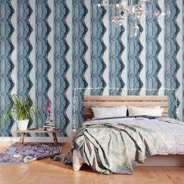 Light Blue Agate Wallpaper