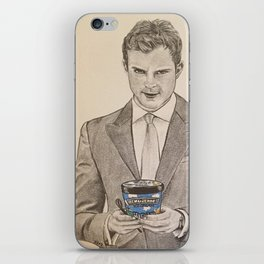 """""""Ben and Jerry and Ana"""" - Fifty Shades Darker iPhone Skin"""