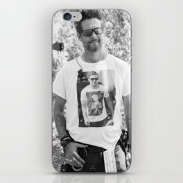 Ryan Gosling meta shirt iPhone Skin