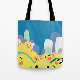 Zombie Chicks Are Out To Get Us Tote Bag