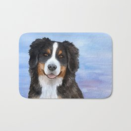 Dog 125 Bernese Mountain Bath Mat