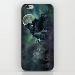 The Haunted House iPhone Skin