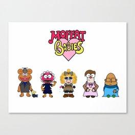 Moffat Babies  Canvas Print
