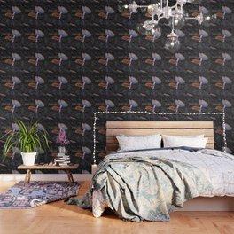 forest mushrooms in sweden Wallpaper