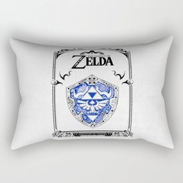 Zelda legend - Hylian shield Rectangular Pillow