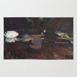 Winslow Homer - Mink Pond, 1891 Rug