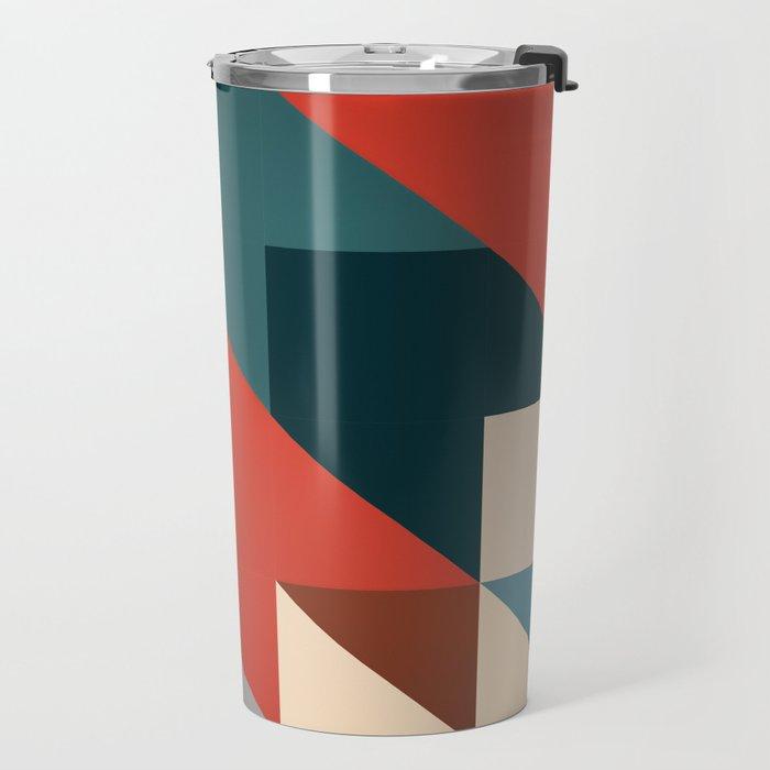ABSTRACT 9D Travel Mug