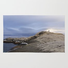 Finmark, North of Norway, dramatic landscape Rug