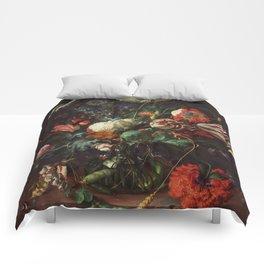 Jan Davidsz de Heem - Vase of Flowers Comforters