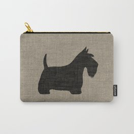 Scottish Terrier Scottie Silhouette Carry-All Pouch
