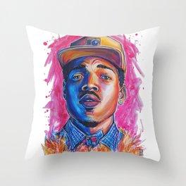 Take a Chance Throw Pillow
