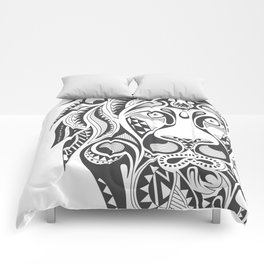 Lion | Abstract Digital Design Comforters