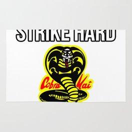 Strike First, Strike Hard, No Mercy Cobra Kai Rug
