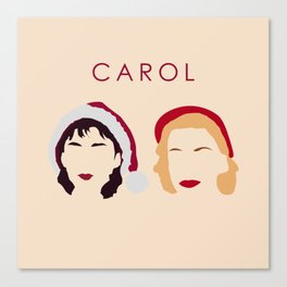 Carol and Therese Belivet Canvas Print