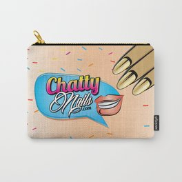 Chatty Nails Purse Carry-All Pouch