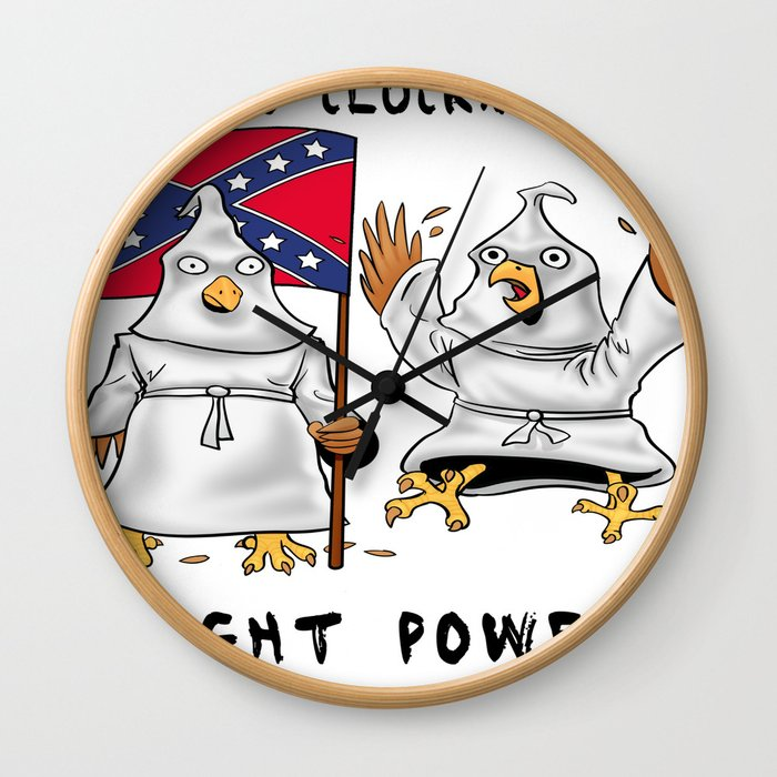 The Coo Cluckx Clan Wall Clock