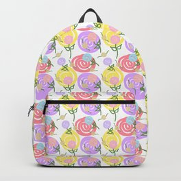 Summer Rose Garden #1 Backpack