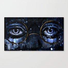 Great Gatsby - Dr TJ Eckleburg - by Hasun Khan Canvas Print
