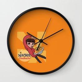 Yo' NACHOS MUCHACHO Wall Clock
