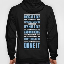 Lab No. 4 Look At A Day When Margaret Thatcher Inspirational Quote Hoody