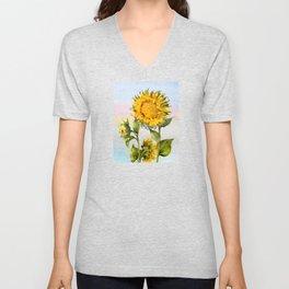 Sunflower 2 Unisex V-Neck