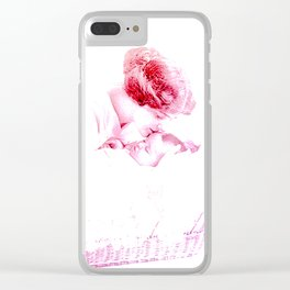 A MOTHER'S LOVE Clear iPhone Case