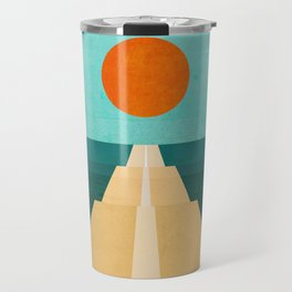 The Road Less Traveled Travel Mug