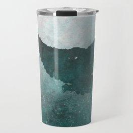 Owl Silhouette | Swooping Owl Ghost | Space Owl Travel Mug
