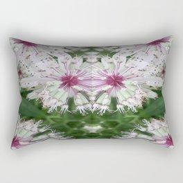 Astrantia Fireworks Rectangular Pillow