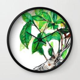 Bonsai Tree Wall Clock