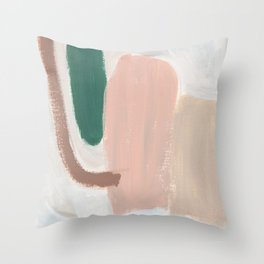 Persimmon Pie Throw Pillow